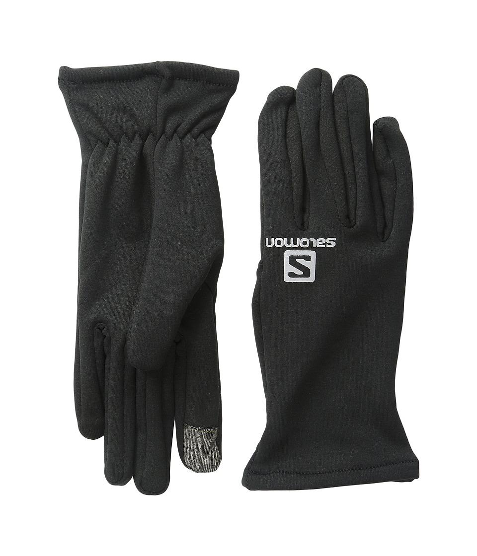 Salomon - Running Fleece (Black) Ski Gloves