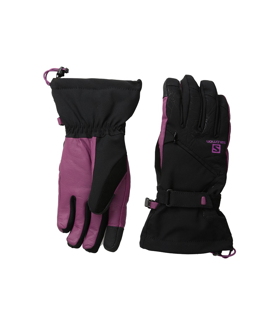 Salomon - Tactile Cs W (Black/Mystic Purple) Cycling Gloves