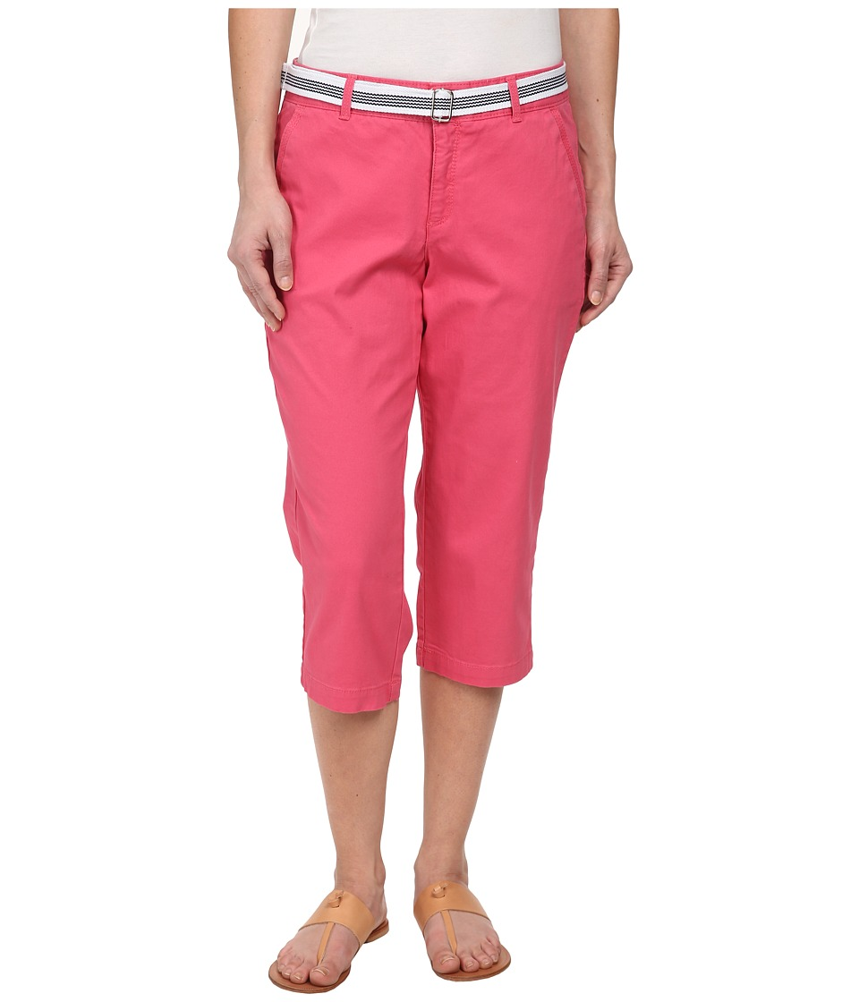 Dockers Petite - Petite The Casual Capris (Claret Red) Women's Capri