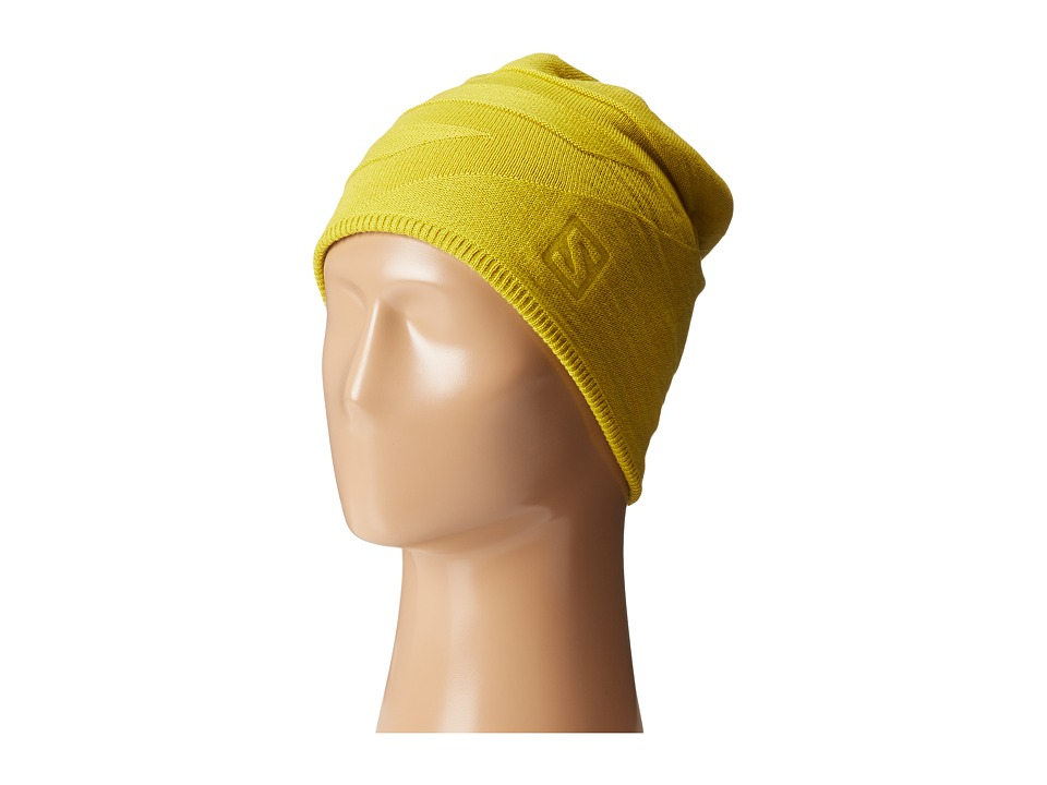 Salomon - Eagle Beanie (Alpha Yellow) Beanies