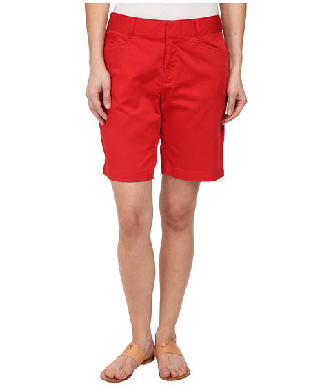 Dockers Petite - Petite The Vacation Bermuda (Mars Red) Women's Shorts