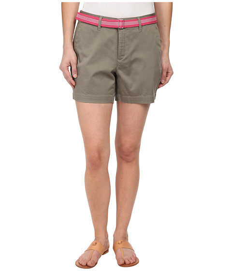 Dockers Petite - Petite The Essential Shorts (Vetiver) Women's Shorts