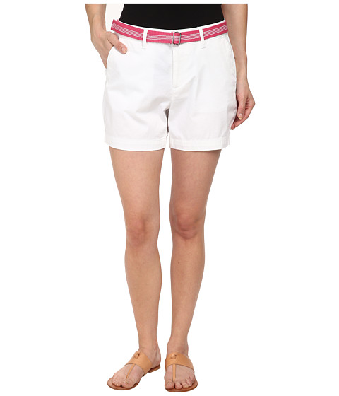 Dockers Petite - Petite The Essential Shorts (Paper White) Women's Shorts