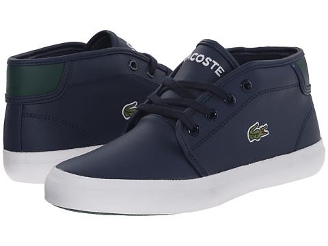 Lacoste Kids - Ampthill REI FA15 (Little Kid/Big Kid) (Dark Blue/Dark Blue) Boy's Shoes