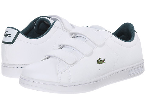 Lacoste Kids - Carnaby EVO REI FA15 (Little Kid) (White/White) Boy