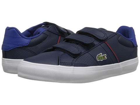 Lacoste Kids - Fairlead TCL FA15 (Little Kid) (Dark Blue/Dark Blue) Boy