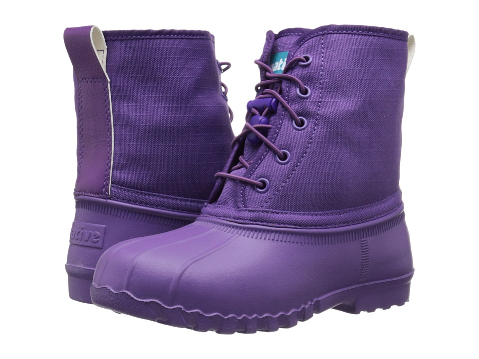 Native Kids Shoes - Jimmy (Little Kid) (Orchid Purple) Girls Shoes
