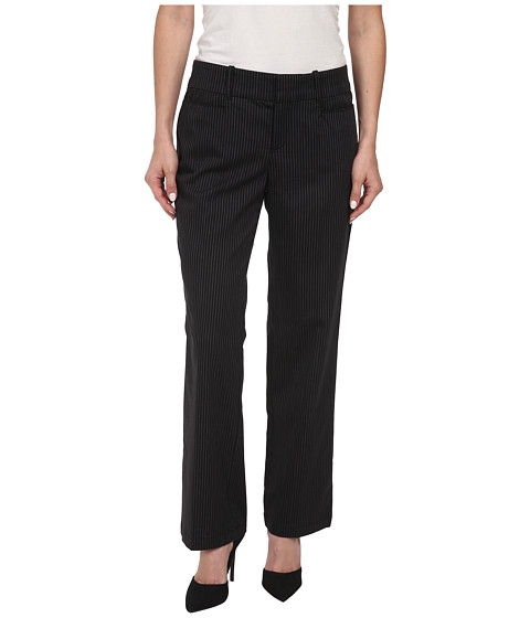 Dockers Petite - Petite The Ideal Pants Straight Leg (Black) Women
