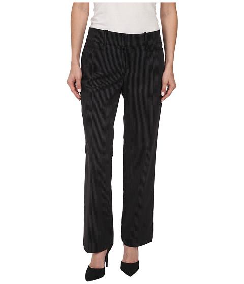 Dockers Petite - Petite The Ideal Pants Straight Leg (Black) Women's Casual Pants