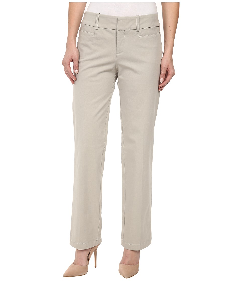 Dockers Petite - Petite The Ideal Pants Straight Leg (Sand) Women's Casual Pants
