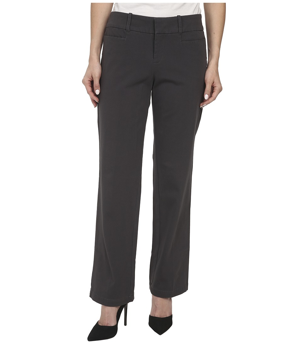 Dockers Petite - Petite The Ideal Pants Straight Leg (Asphalt) Women's Casual Pants