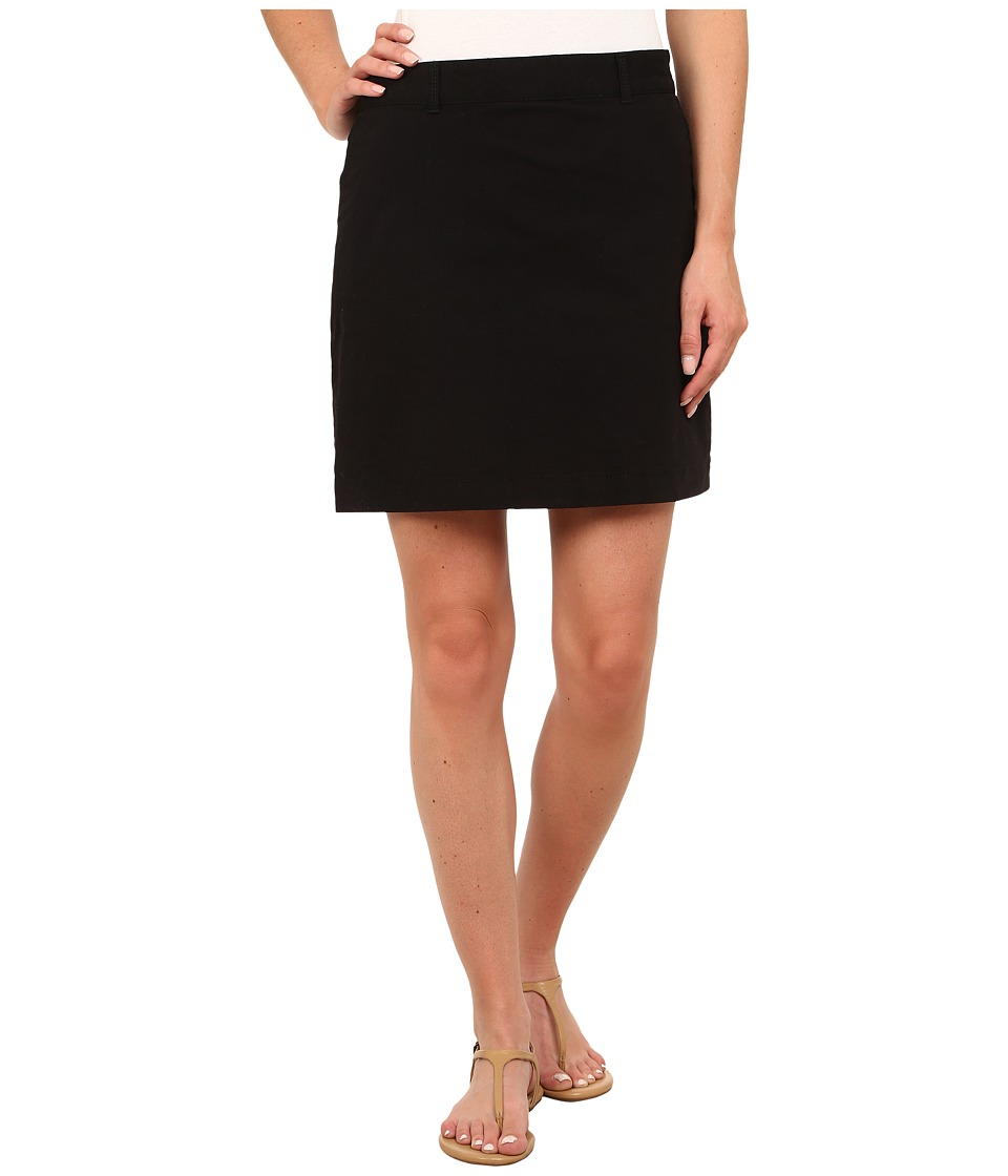 Dockers Petite - Petite Everyday Skooter (Black) Women's Skort