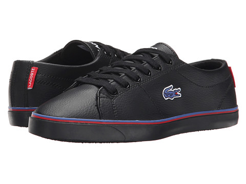 Lacoste Kids - Marcel TCL FA15 (Little Kid/Big Kid) (Black/Black) Boys Shoes