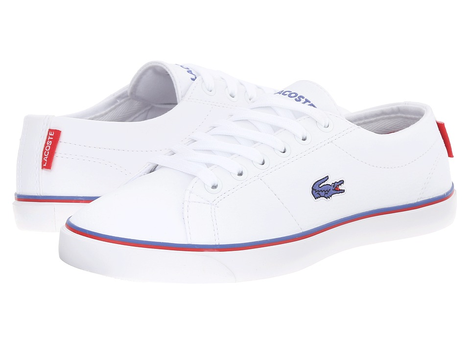 Lacoste Kids - Marcel TCL FA15 (Little Kid/Big Kid) (White/White) Boys Shoes