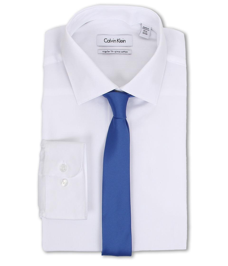 Calvin Klein - Regular Fit Tonal Stripe (White) Men
