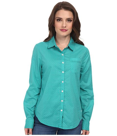 Dockers Petite - Petite Pattern Perfect Shirt (Baltic) Women