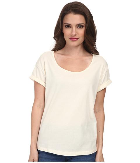 Dockers Petite - Petite Sadie Tee (Oatmeal) Women's T Shirt