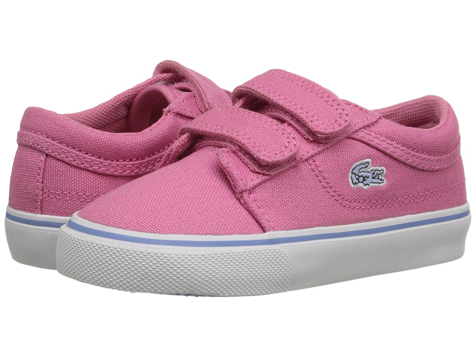 Lacoste Kids - Vaultstar PPG FA15 (Toddler/Little Kid) (Pink/Pink) Girl's Shoes