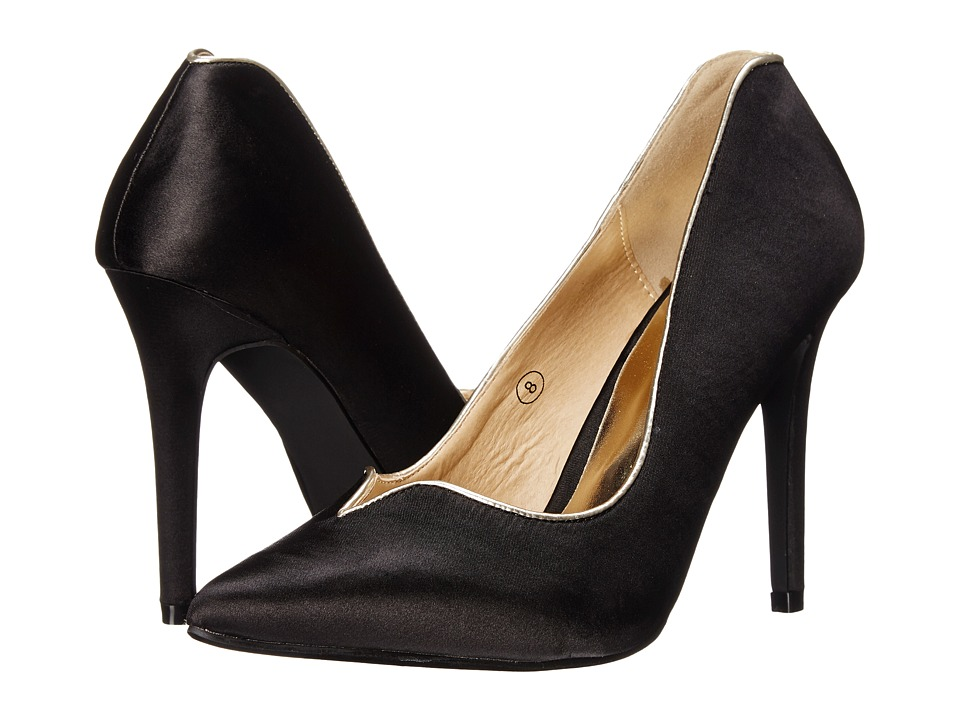 C Label Liberty-8B (Black) High Heels