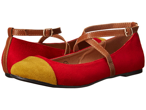 C Label - Lora-22 (Red/Mustard) Women