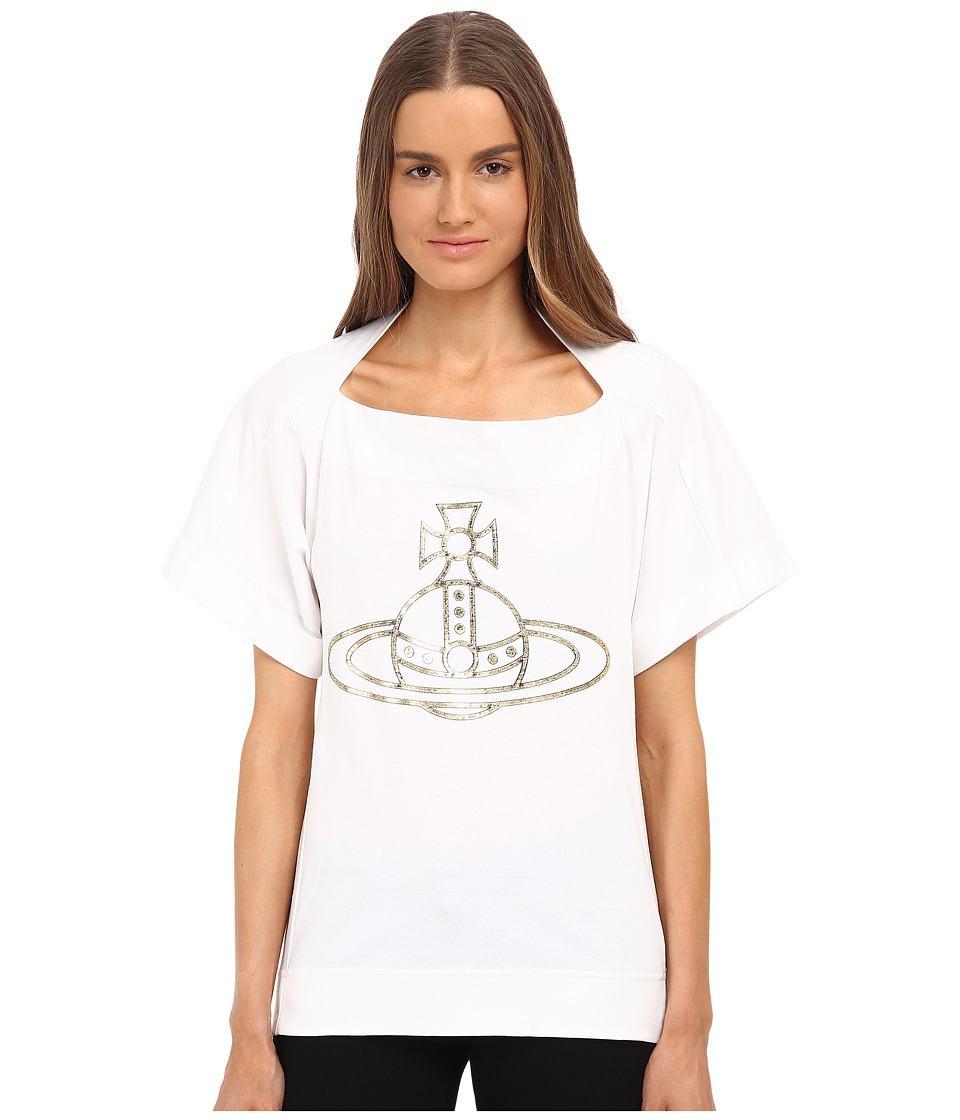 Vivienne Westwood - Monarchy Tee (White) Women's T Shirt
