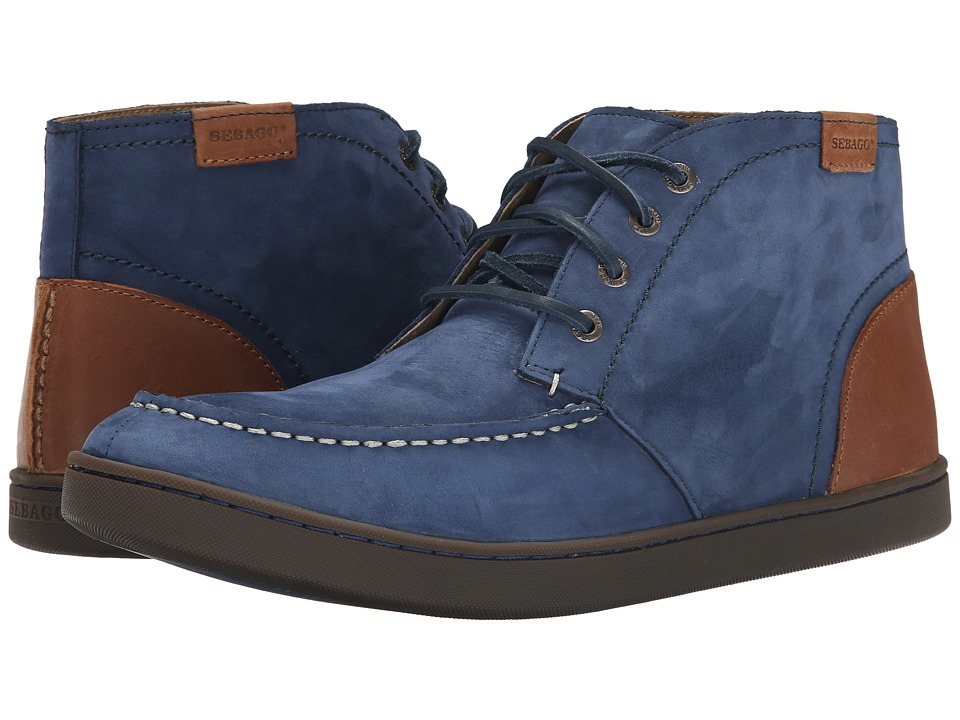Sebago - Ryde Chukka (Navy Nubuck) Men's Lace up casual Shoes