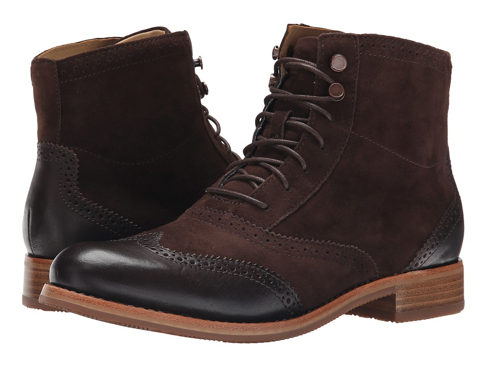 Sebago - Claremont Boot (Brown Suede) Women's Boots