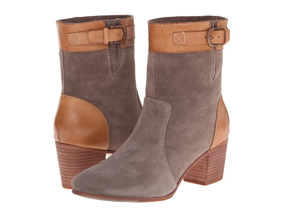 Sebago Nell Ankle Boot (Dark Taupe Suede) Women