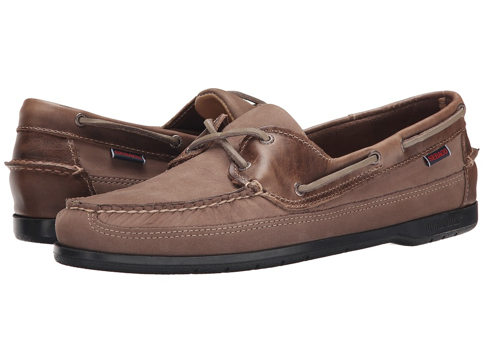 Sebago - Schooner (Dark Taupe Nubuck) Men's Shoes