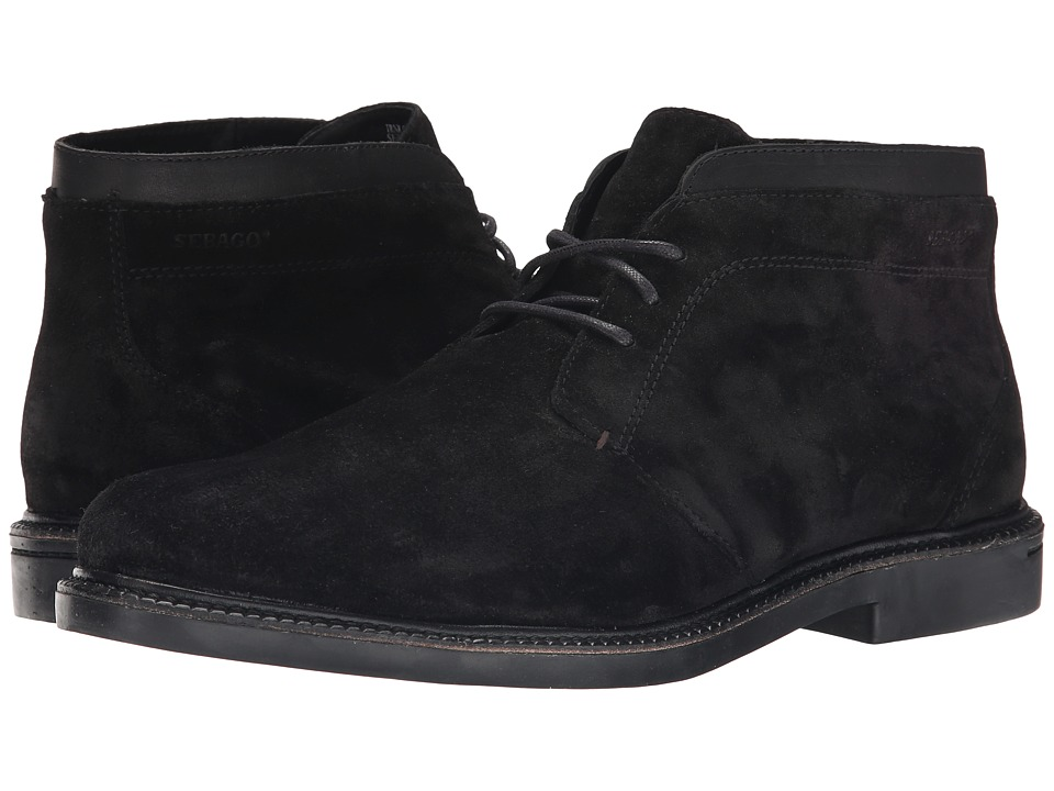 Sebago - Turner Chukka (Black Suede) Men's Shoes