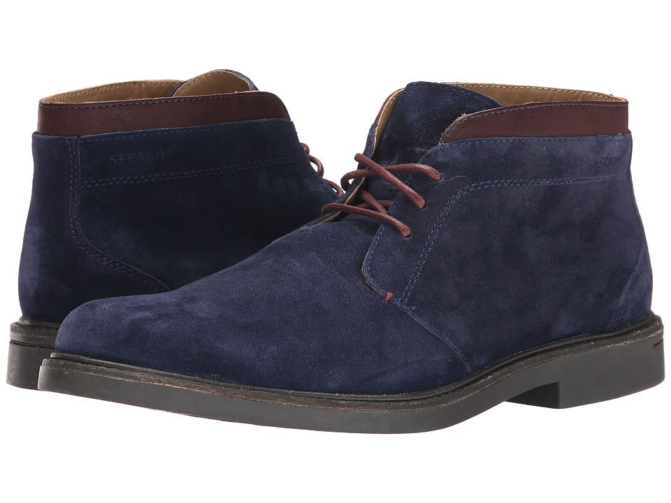 Sebago - Turner Chukka (Navy Suede) Men's Shoes