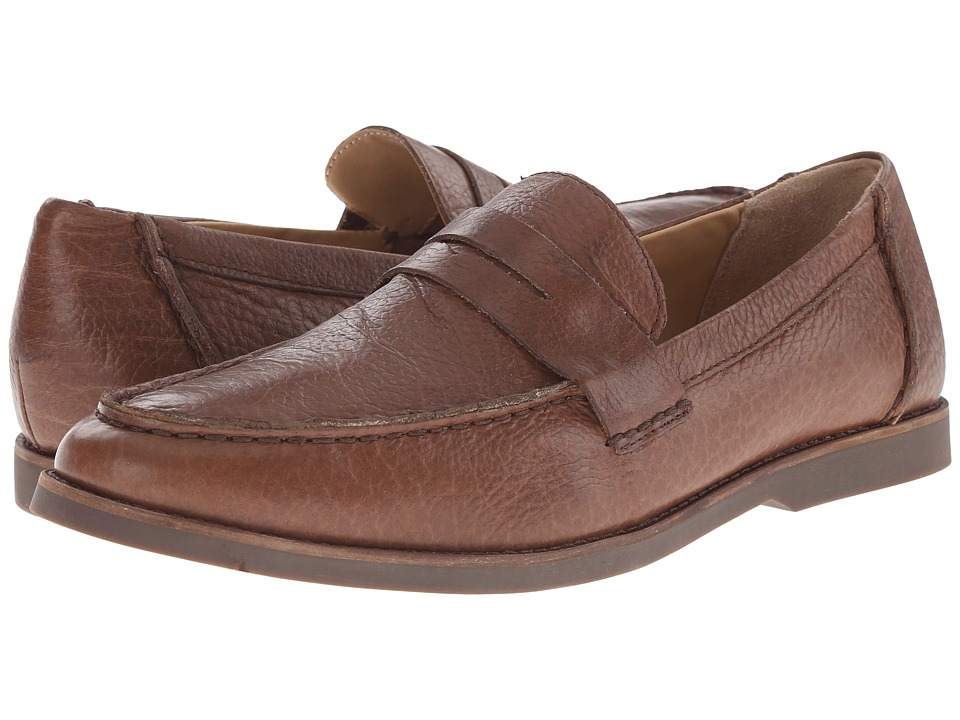 Sebago - Norwich Penny (Brown Bison Leather) Men's Shoes