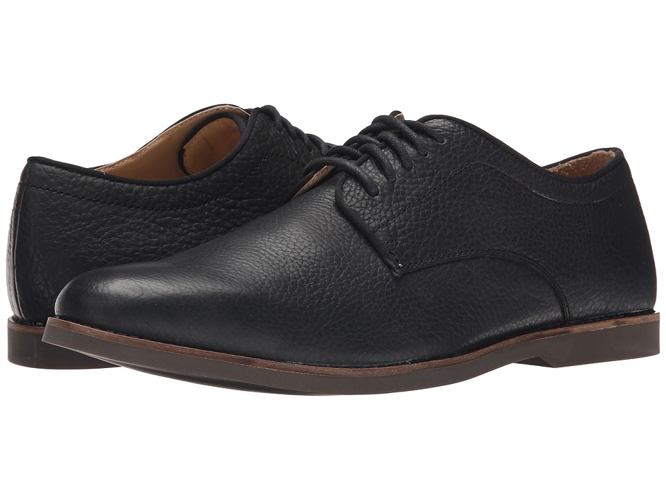 Sebago Norwich Oxford (Black Bison Leather) Men