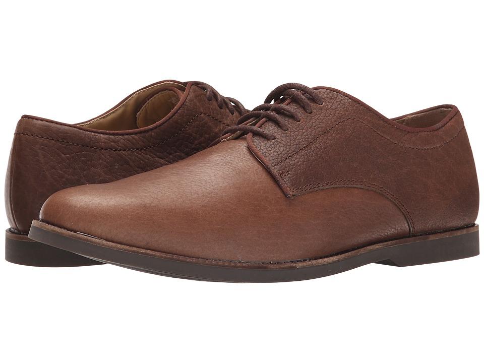 Sebago Norwich Oxford (Brown Bison Leather) Men