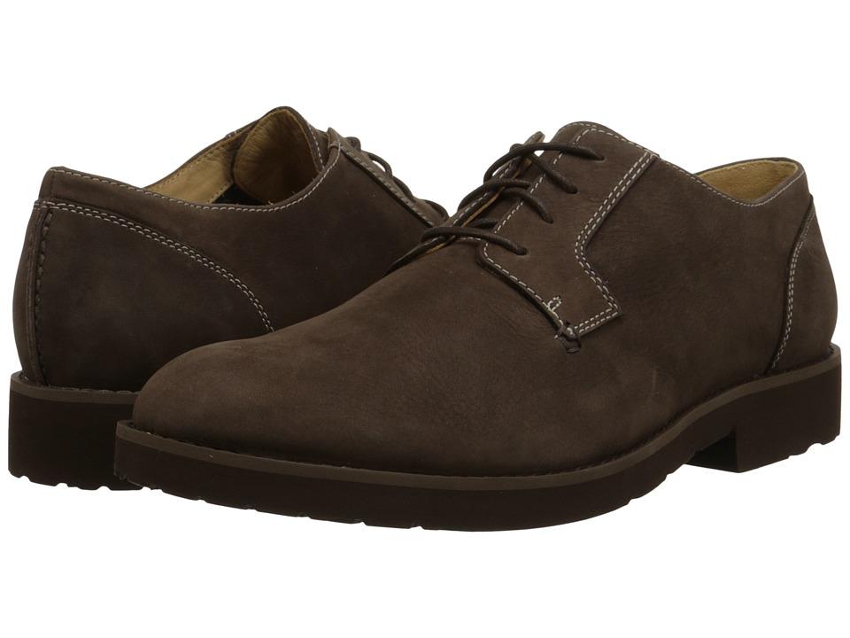 Sebago Rutland Lace Up (Dark Brown Nubuck) Men's Lace up casual Shoes