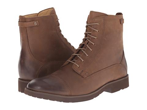 Sebago - Rutland Lace Up Boot (Medium Brown Leather) Men