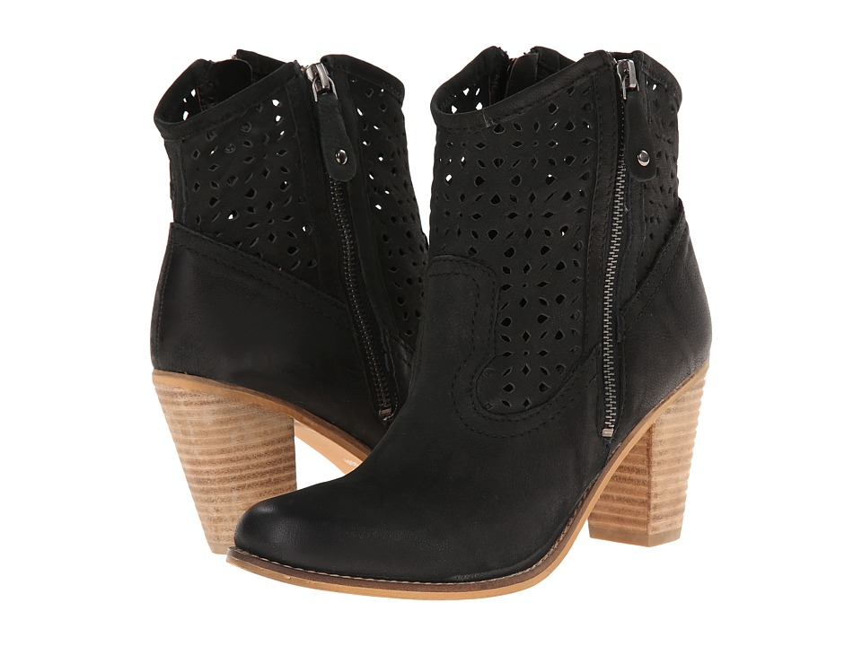 Rebels - Stomp-2 (Black) Women's Pull-on Boots