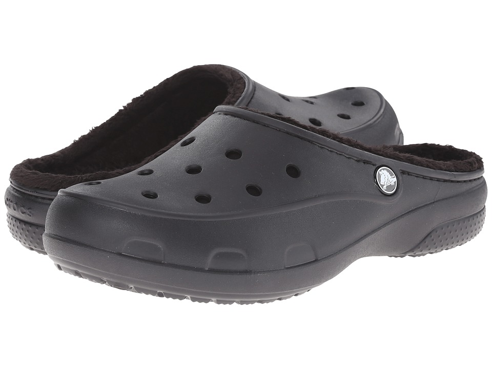Crocs - Freesail Lined Clog (Black/Black) Women