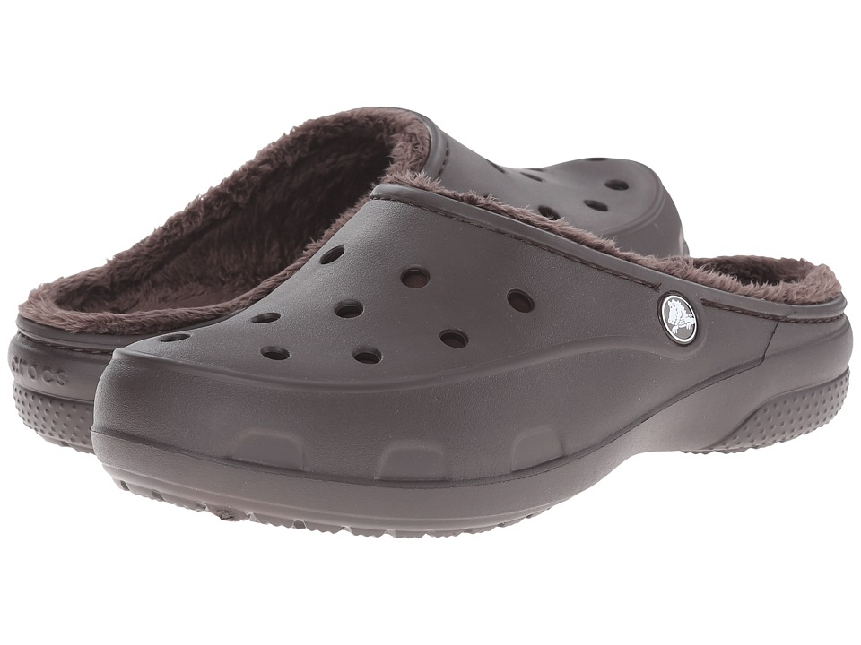 Crocs - Freesail Lined Clog (Espresso/Espresso) Women's Shoes