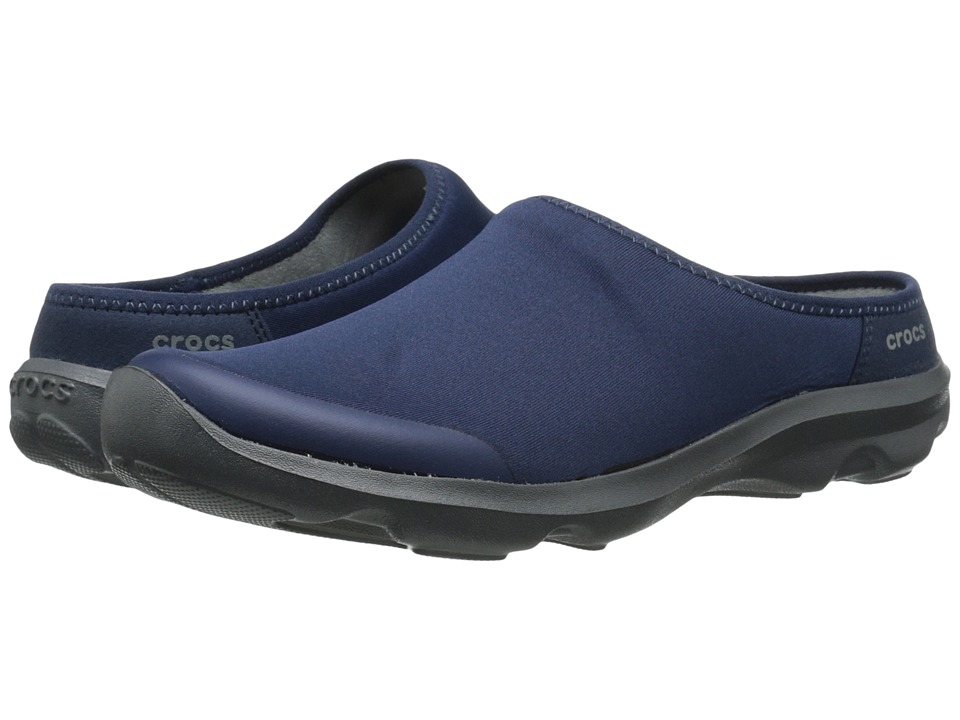 Crocs - Duet Busy Day 2.0 Satya Mule (Navy/Graphite) Women's Shoes