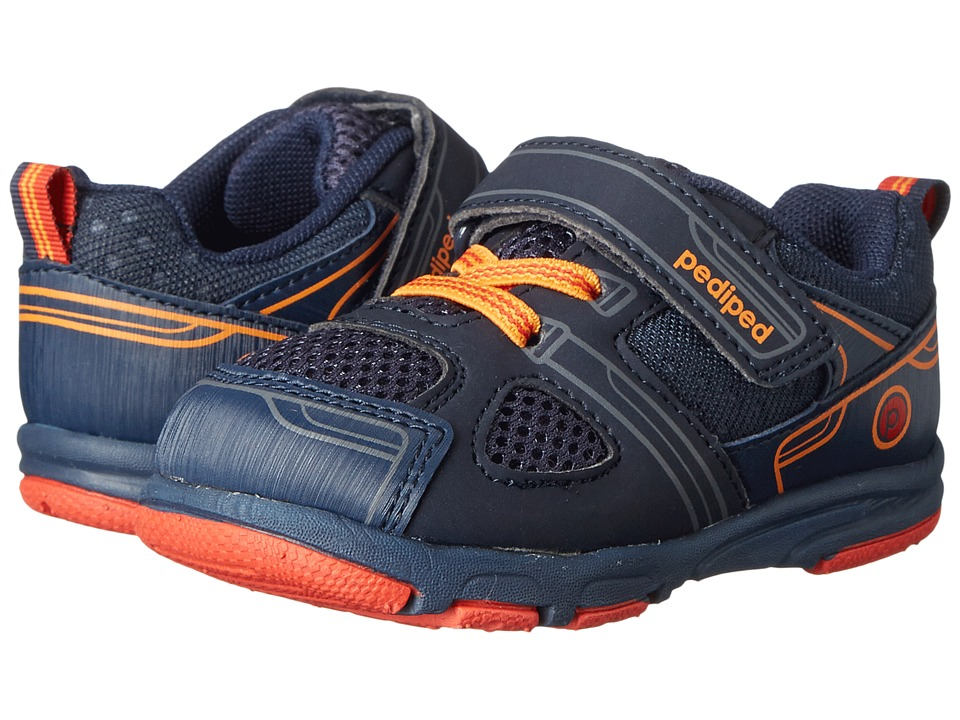 pediped - Mars Grip n Go (Toddler) (Navy) Boys Shoes