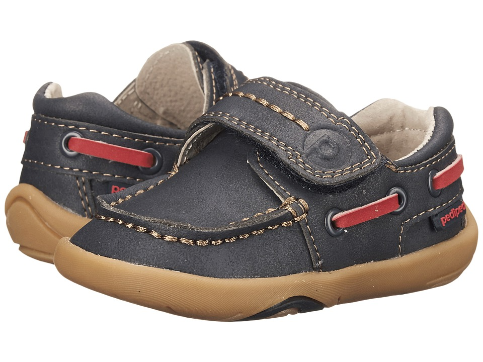 pediped - Norm Grip n Go (Toddler) (Navy) Girl's Shoes