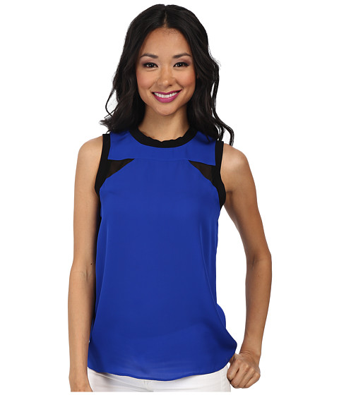 Nicole Miller - Caryn Insert-Lovers Top (Cataline Blue) Women
