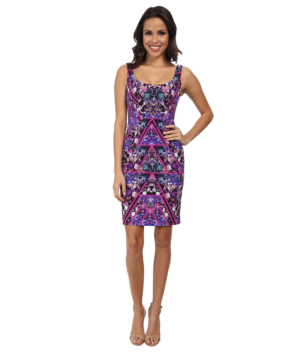 Nicole Miller - Berry Bliss Powernet Tank Dress (Pinkberry) Women's Dress