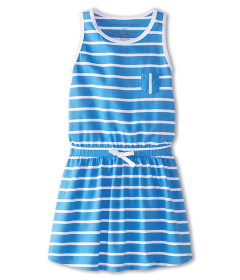 Tommy Hilfiger Kids - Cross Back Dress (Big Kids) (Palace Pink) Girl