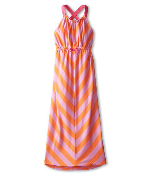 Tommy Hilfiger Kids - Maxi Dress (Big Kids) (Light Orange) Girl