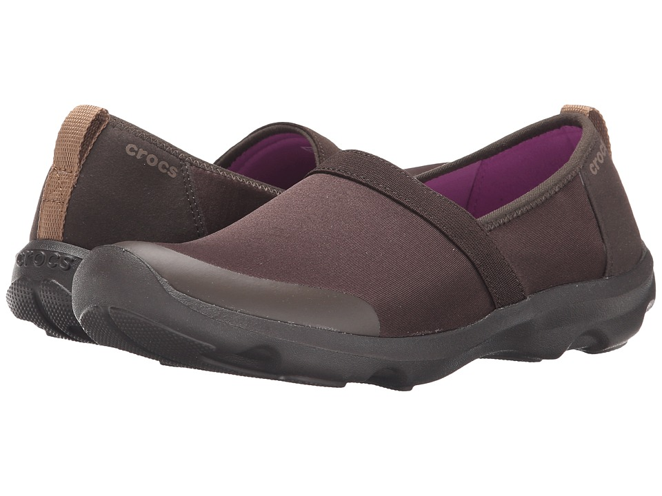 Crocs - Duet Busy Day 2.0 Satya A/line (Espresso/Espresso) Women's Shoes