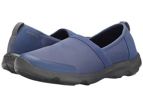 Crocs - Duet Busy Day 2.0 Satya A/line (Bijou Blue/Graphite) Women's Shoes