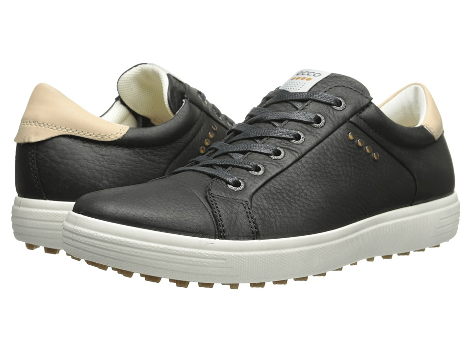 ECCO Golf - Golf Casual Hybrid (Black) Men's Golf Shoes