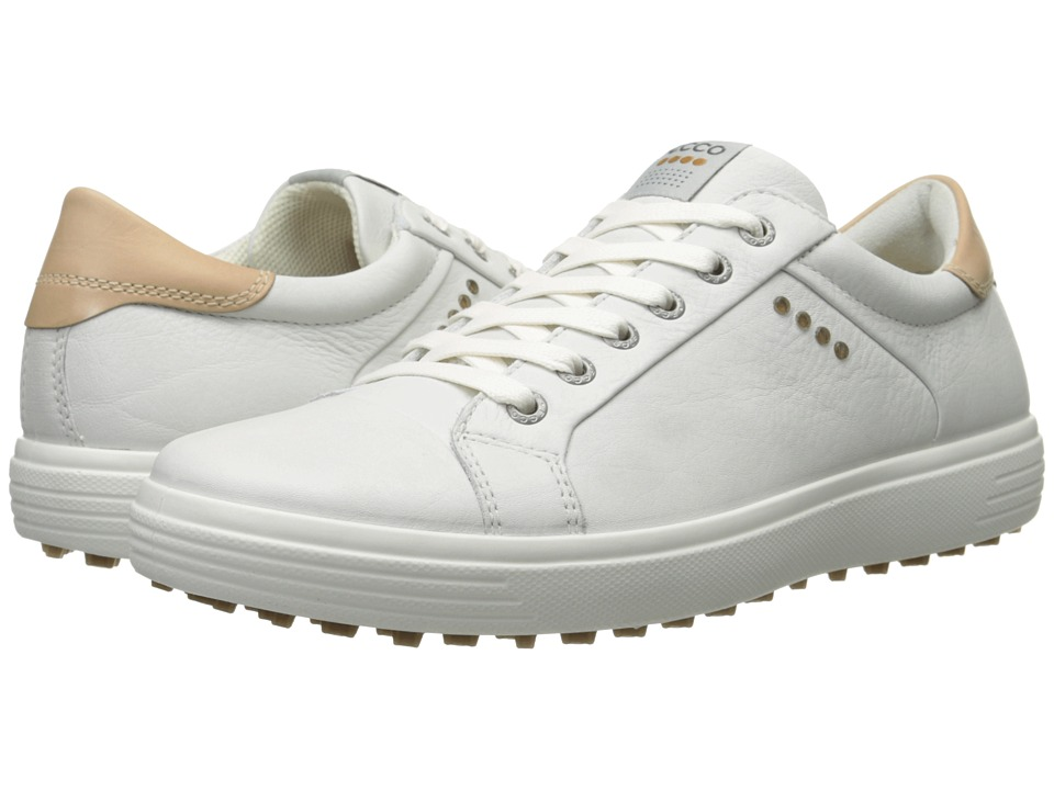 ECCO Golf - Golf Casual Hybrid (White) Men's Golf Shoes